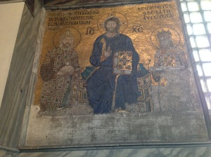 Mosaics of the Hagia Sophia