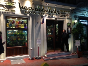 Haci Abdullah, Istanbul